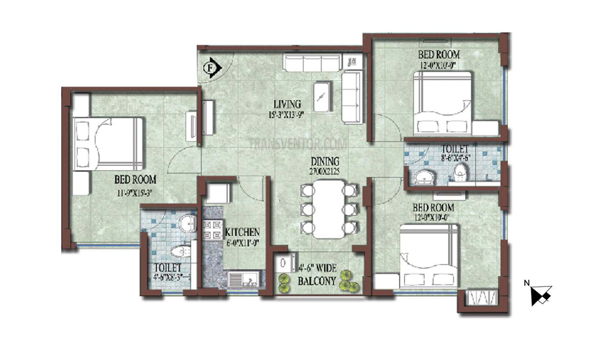 PS and Vinayak Nautical Floor Plan 10