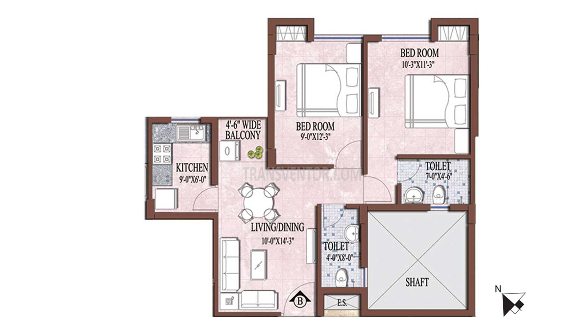 PS and Vinayak Nautical Floor Plan 3