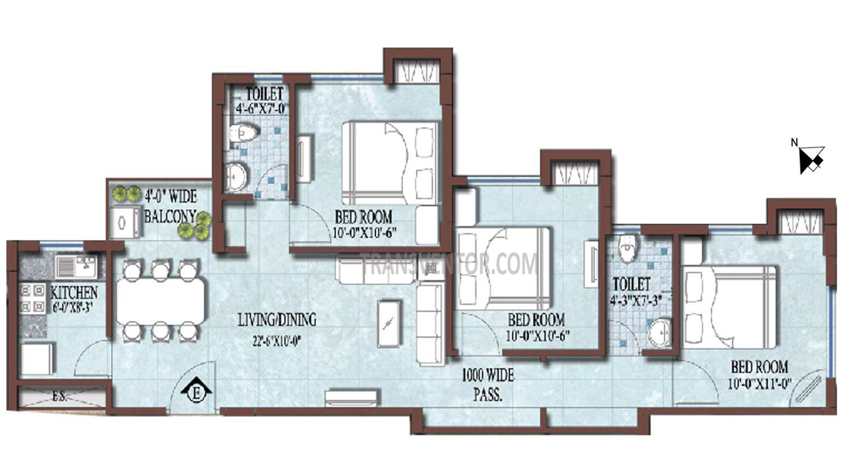 PS and Vinayak Nautical Floor Plan 7