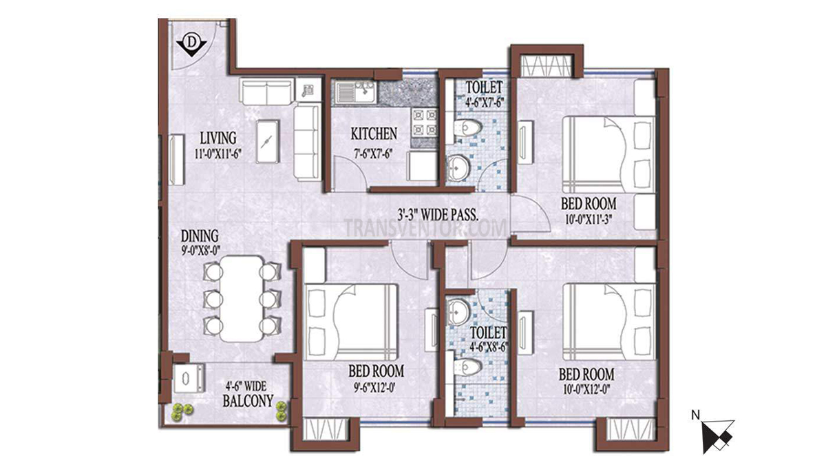 PS and Vinayak Nautical Floor Plan 8