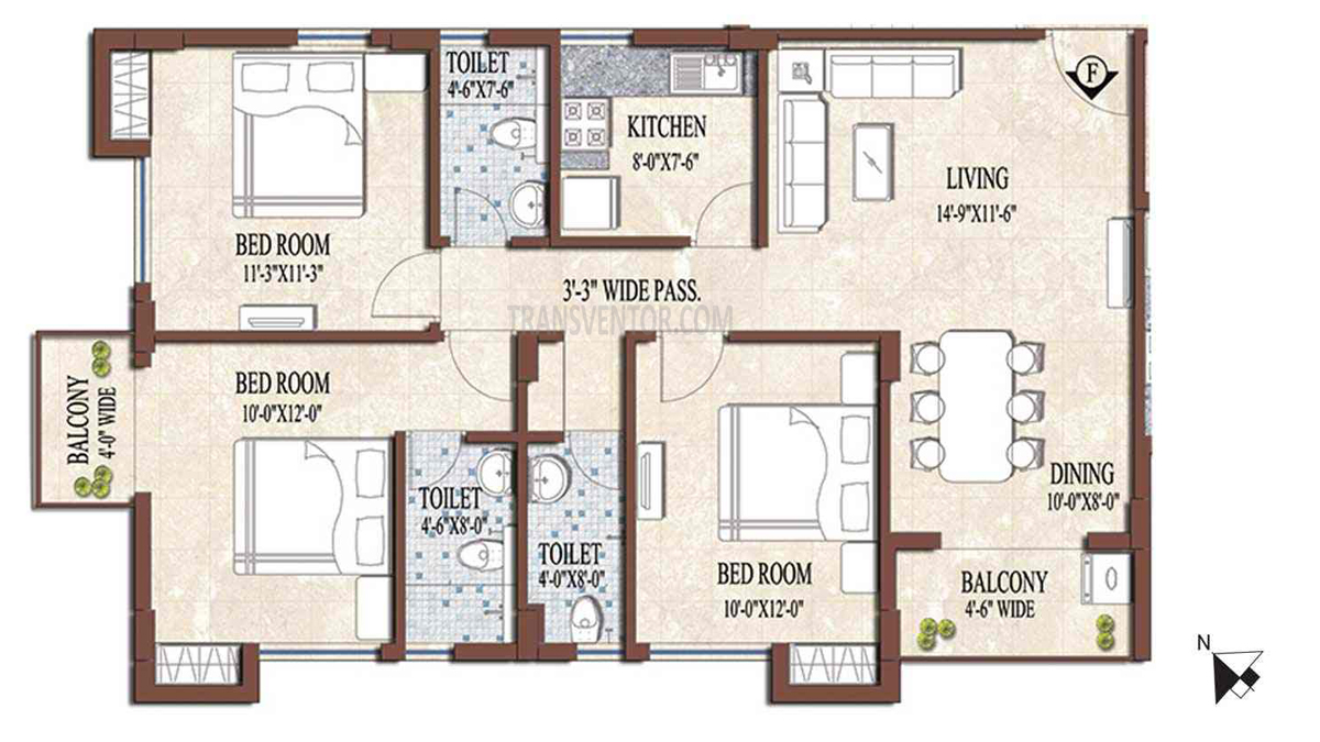 PS and Vinayak Nautical Floor Plan 9