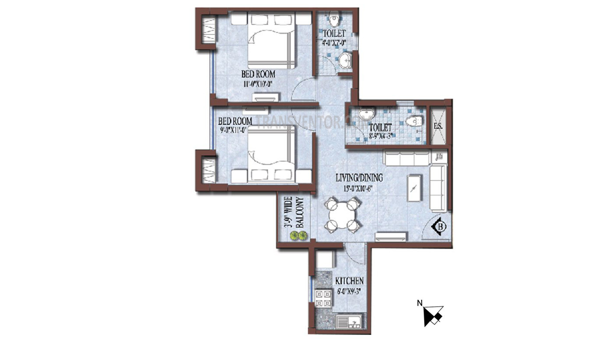 PS and Vinayak Nautical Floor Plan 11