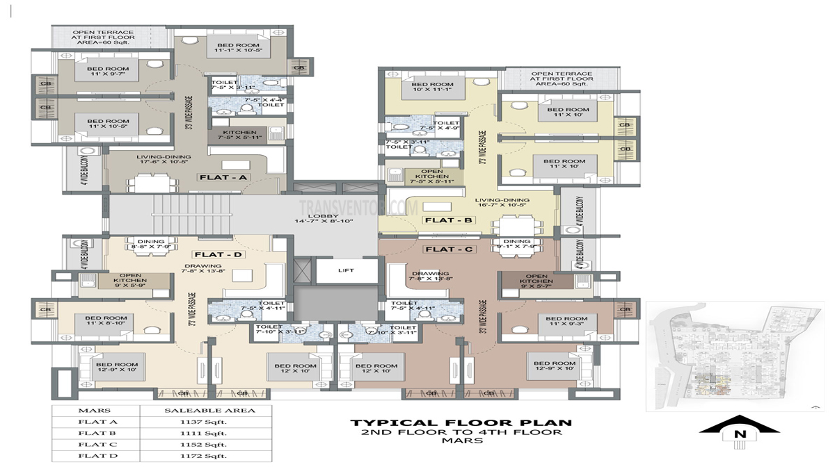 Purti Planet Floor Plan 3