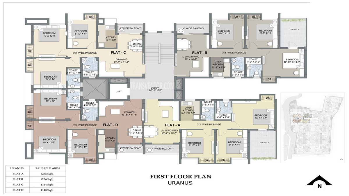 Purti Planet Floor Plan 4