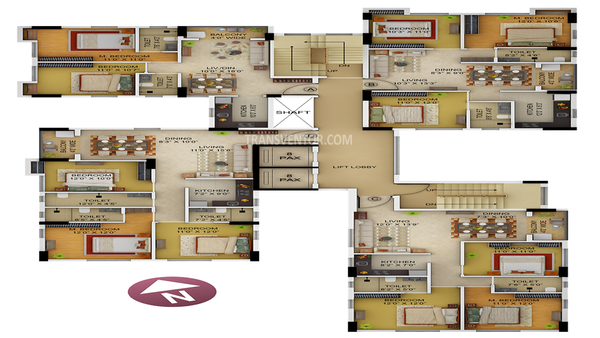 Primarc Allure Floor Plan 3