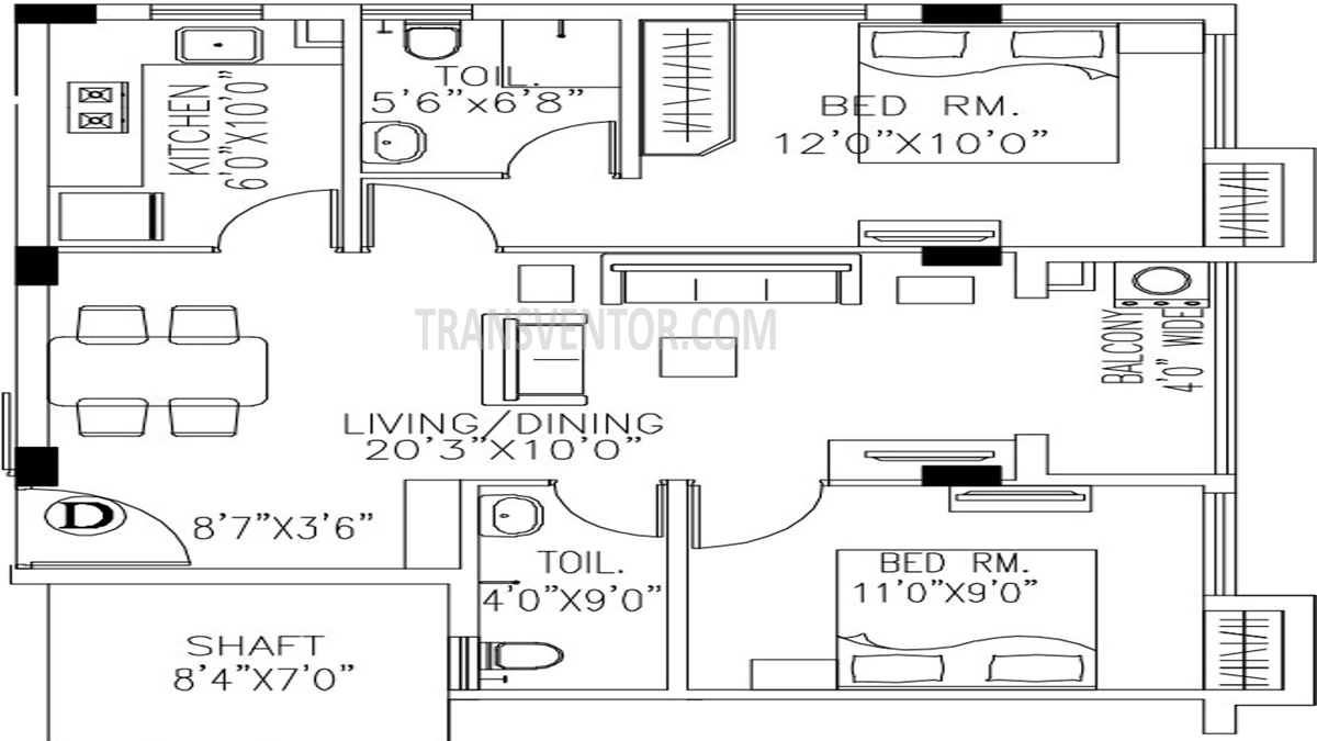 PS Arham Floor Plan 2