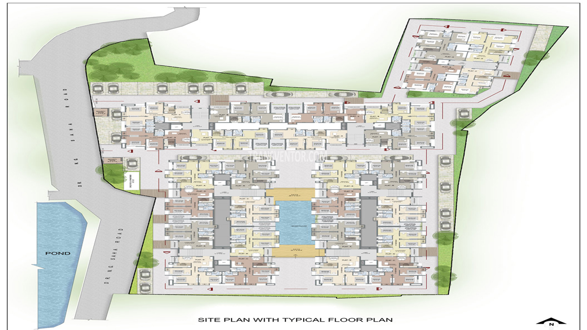 Purti Planet Floor Plan 1