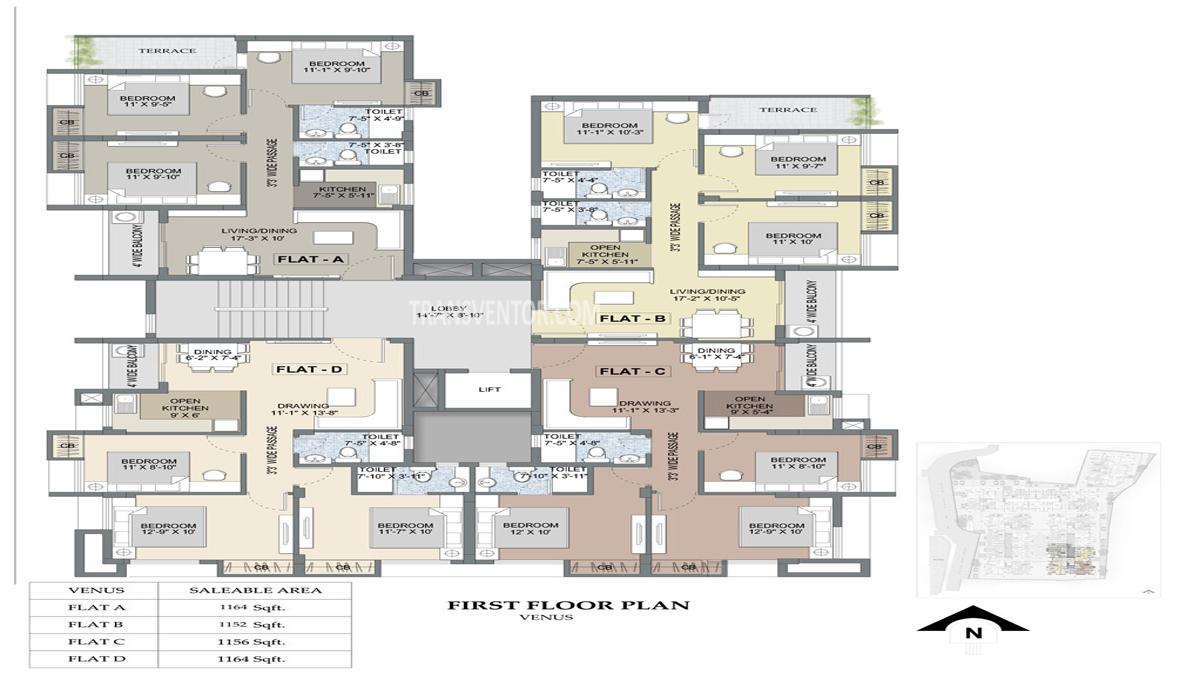 Purti Planet Floor Plan 6