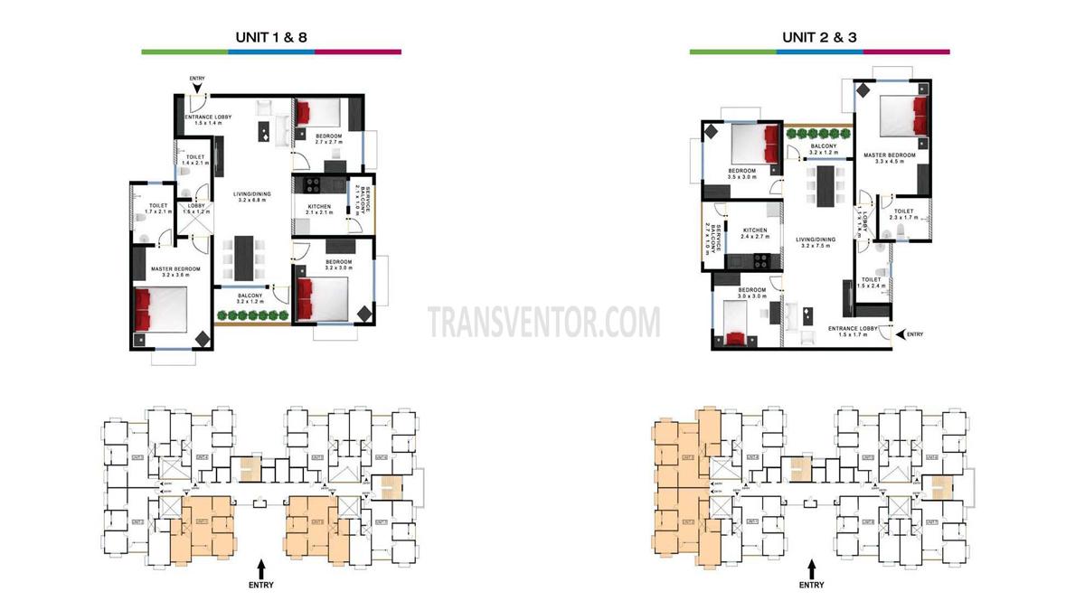 Godrej Prakriti Floor Plan 1