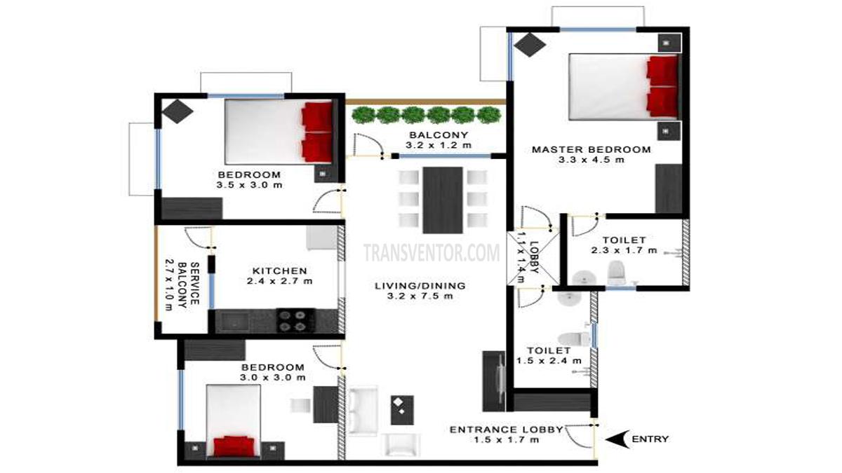 Godrej Prakriti Floor Plan 4