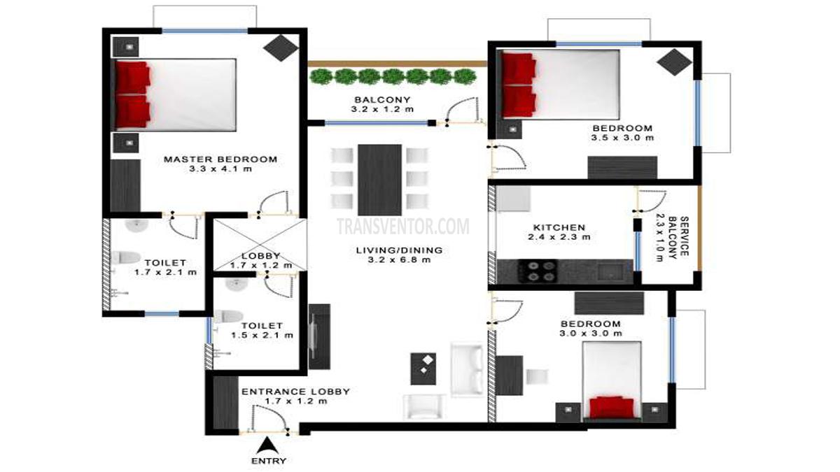 Godrej Prakriti Floor Plan 6