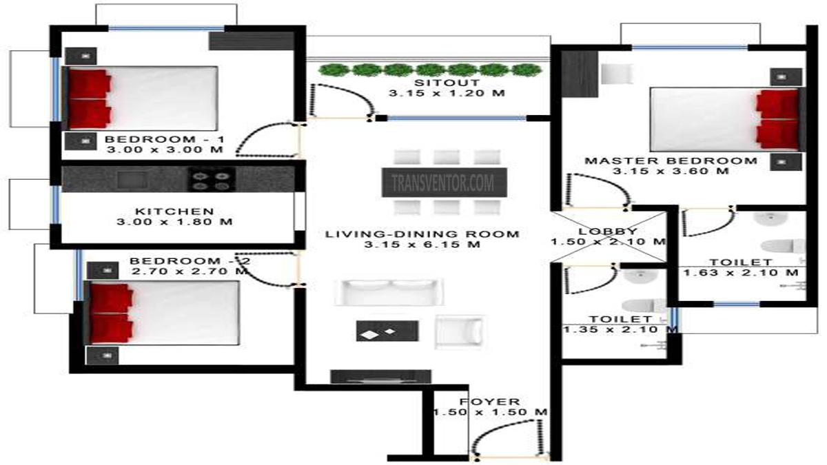 Godrej Prakriti Floor Plan 10