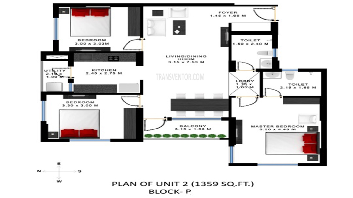 Godrej Prakriti Floor Plan 13