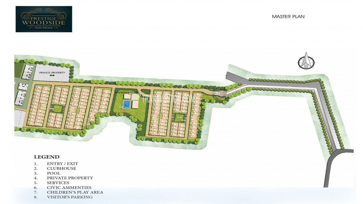 Prestige Woodside Floor Plan 1