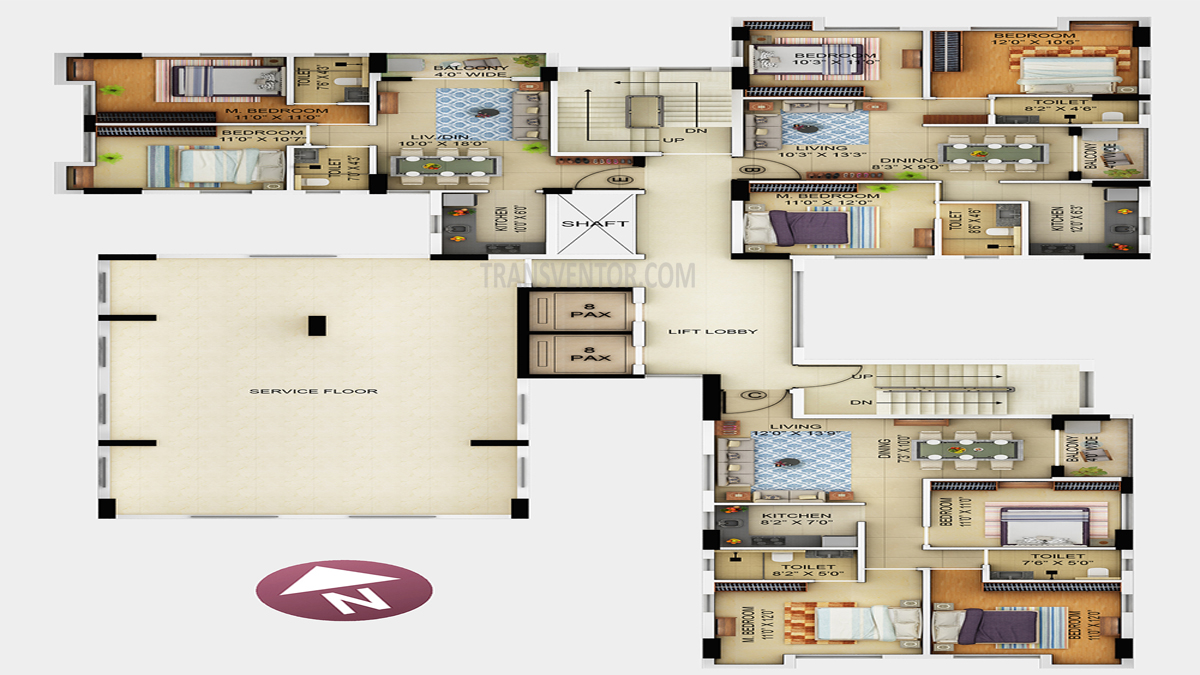 Primarc Allure Floor Plan 1