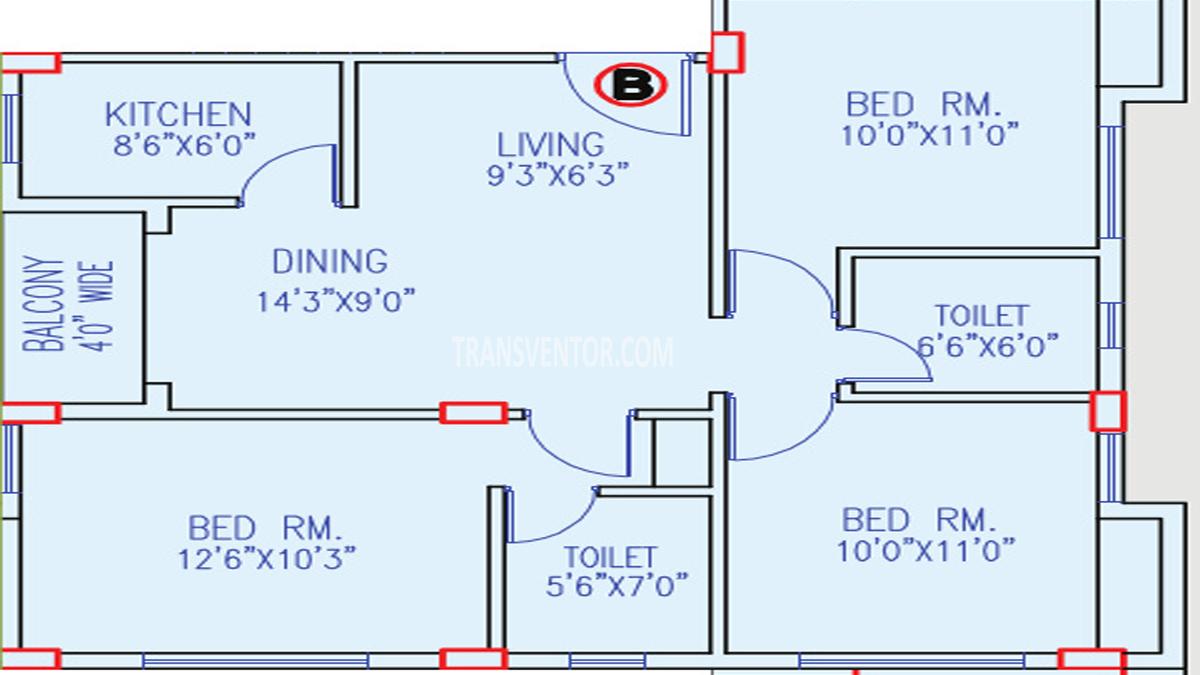 Primarc Anukul Floor Plan 2