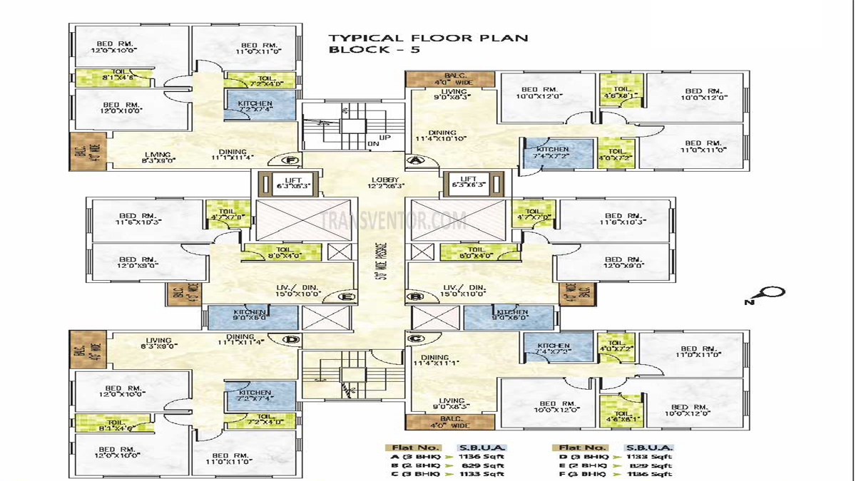 Riya Manbhari Greens Floor Plan 5