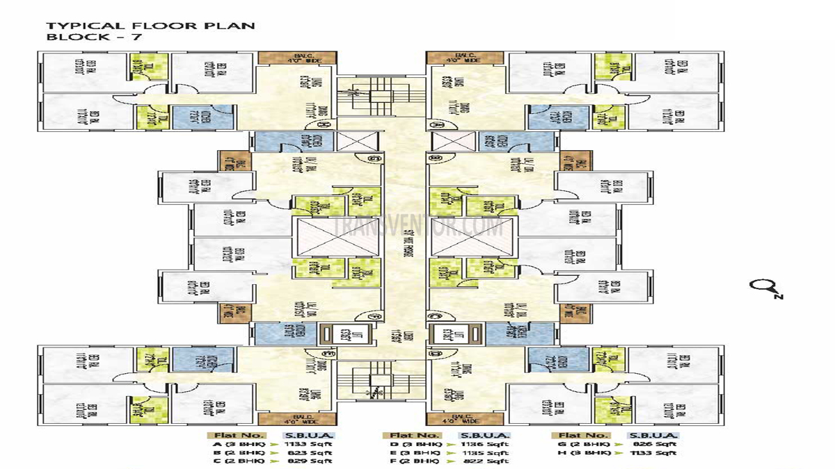 Riya Manbhari Greens Floor Plan 7