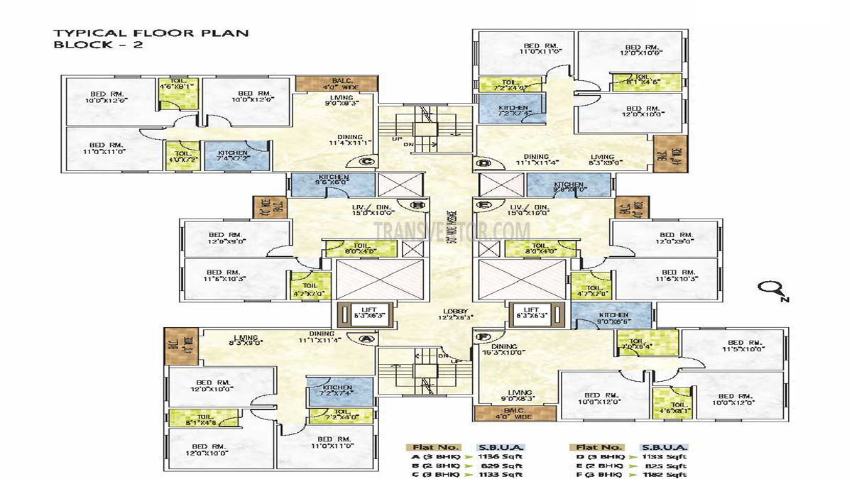 Riya Manbhari Greens Floor Plan 3
