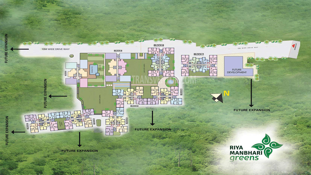 Riya Manbhari Greens Floor Plan 1