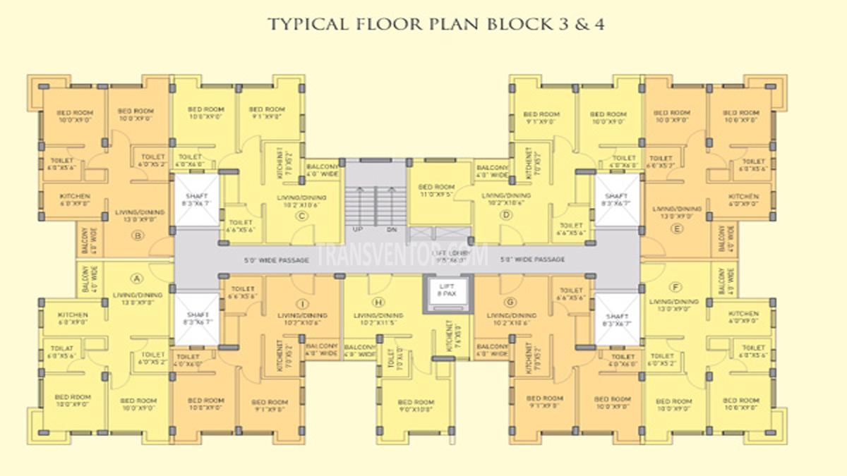 Riya Manbhari Swarnabhoomi Floor Plan 2