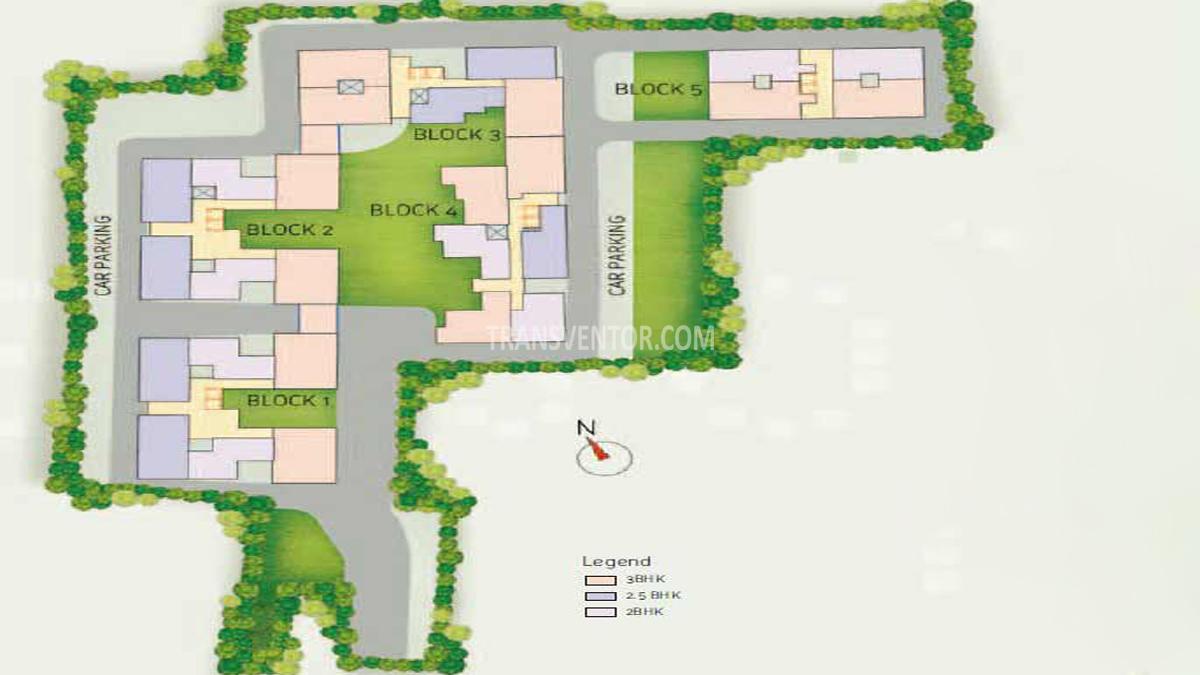 Space Club Town Courtyard Floor Plan 1
