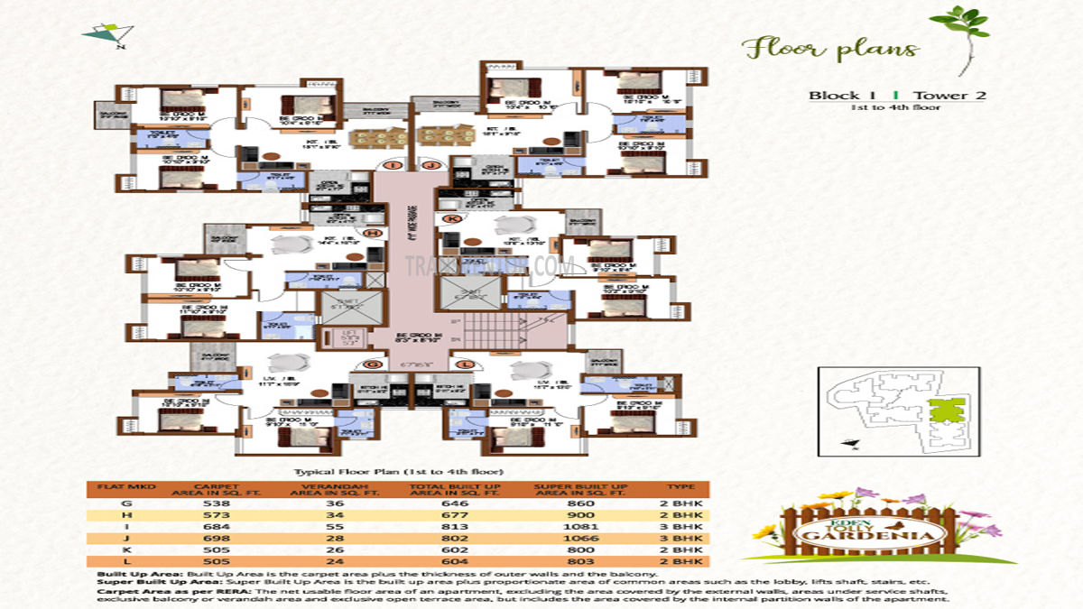 Eden Tolly Gardenia Floor Plan 2