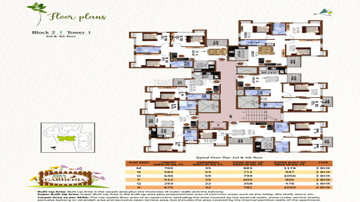 Eden Tolly Gardenia Floor Plan 5
