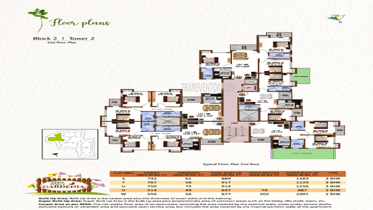 Eden Tolly Gardenia Floor Plan 6