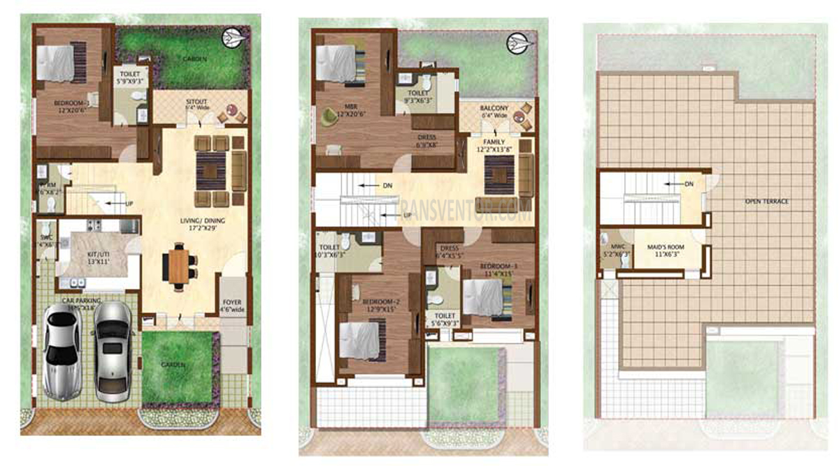 Prestige Woodside Floor Plan 2