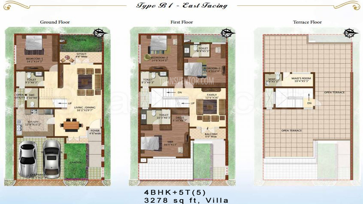 Prestige Woodside Floor Plan 3