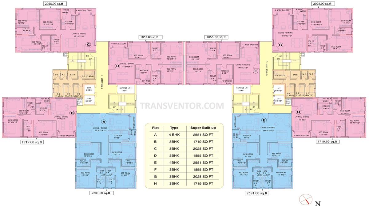 Ruchi Active Acres Floor Plan 2