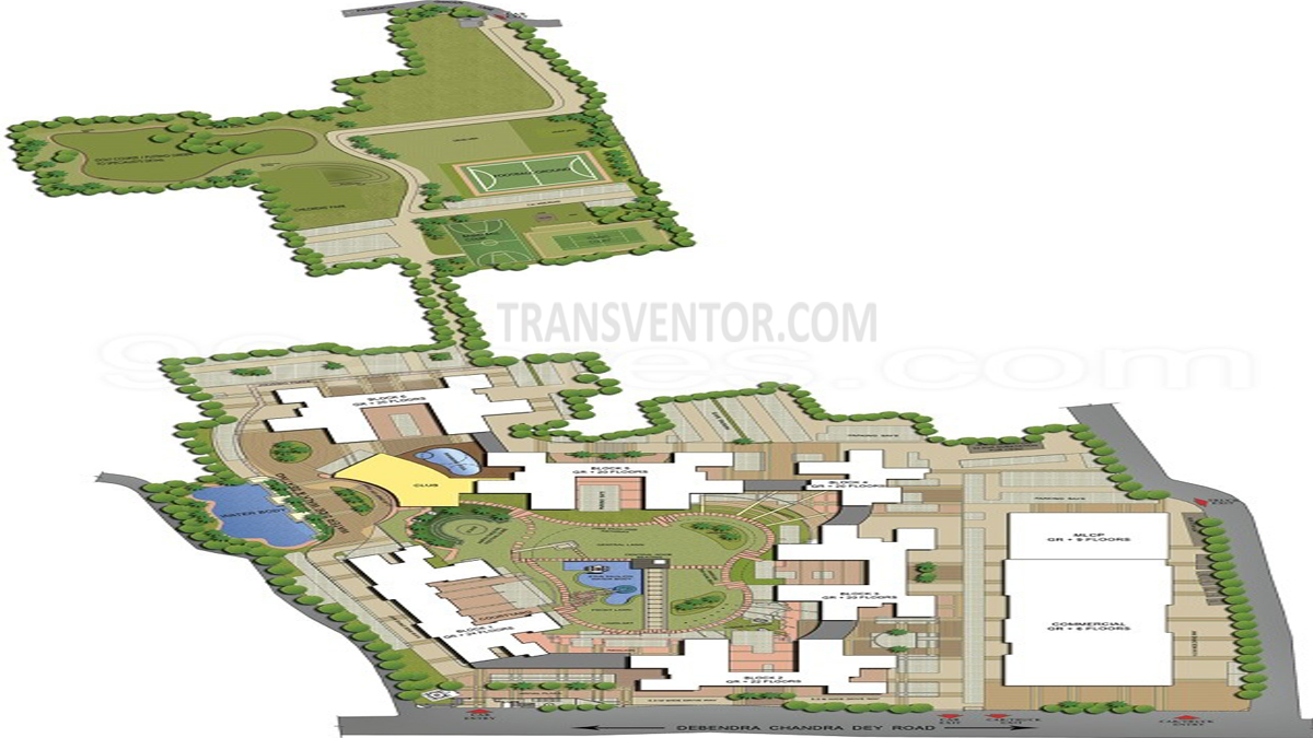 Ruchi Active Acres Floor Plan 1