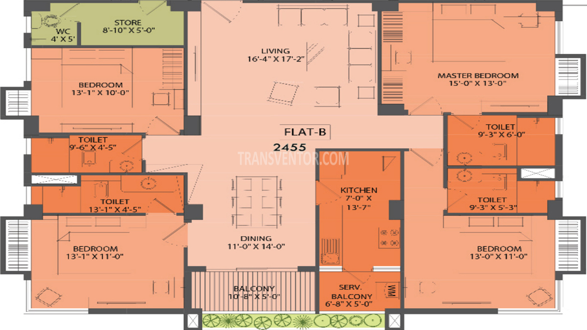 Aspirations Aloft Floor Plan 1