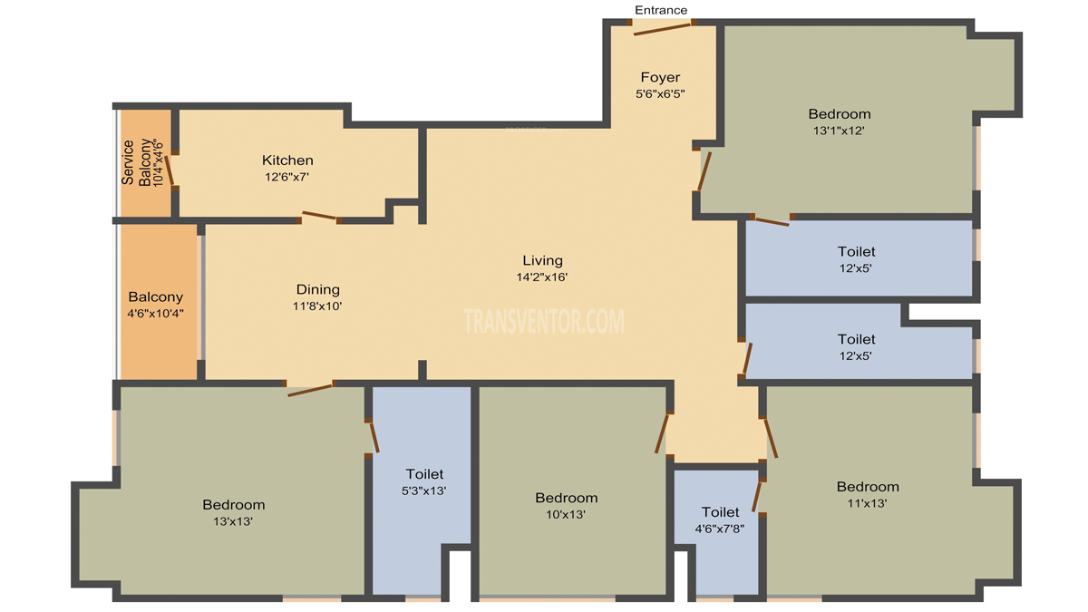 Aspirations Aloft Floor Plan 2
