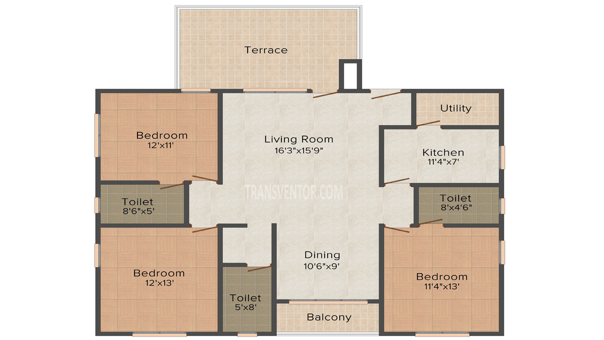 Aspirations Crescent Floor Plan 1