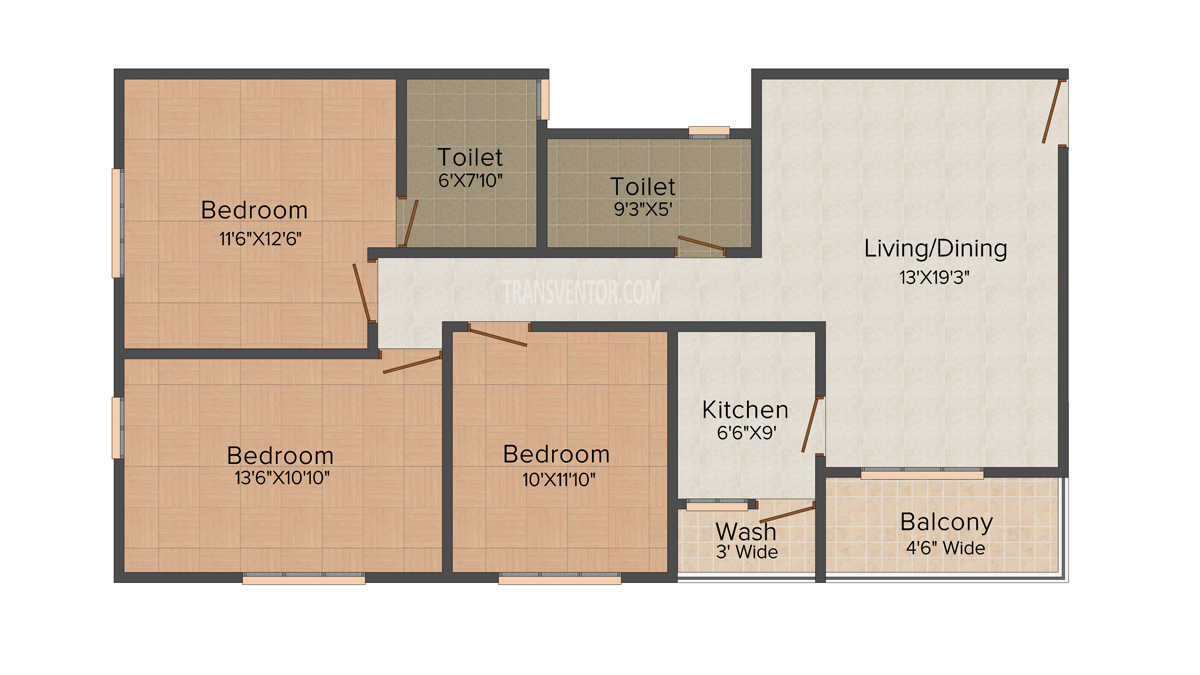 Aspirations Harmony Floor Plan 4