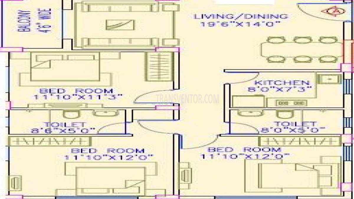 Aspirations Harmony Floor Plan 3