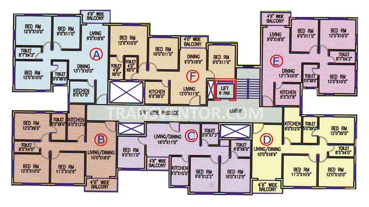 Aster Gardens Floor Plan 4