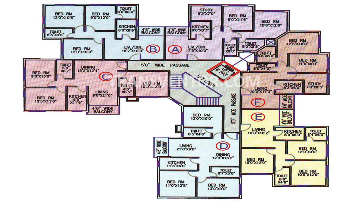Aster Gardens Floor Plan 6