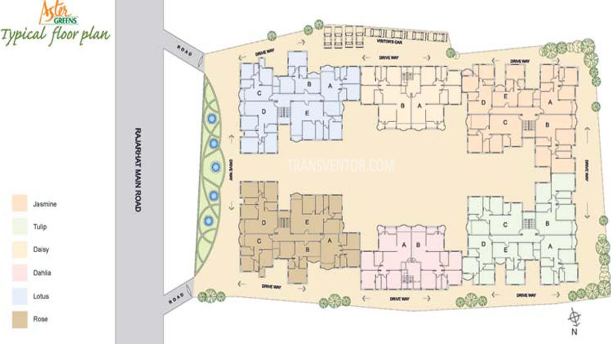 Aster Green Floor Plan 1