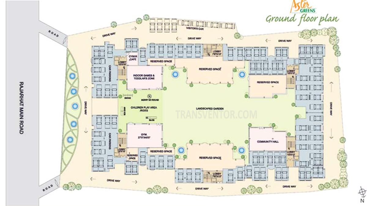 Aster Green Floor Plan 2