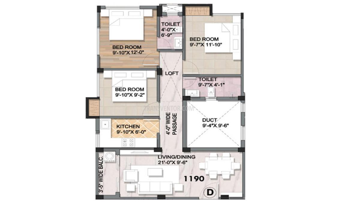 Aspirations Azalea Floor Plan 2