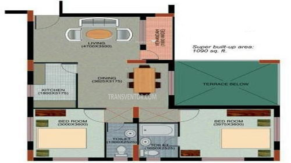 Bengal Greenfield Heights Floor Plan 1