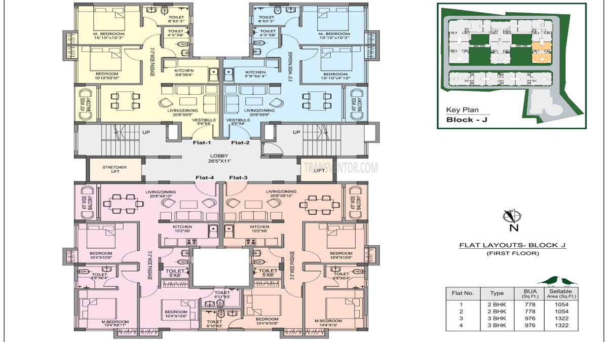 Bhawani Courtyard Floor Plan 1