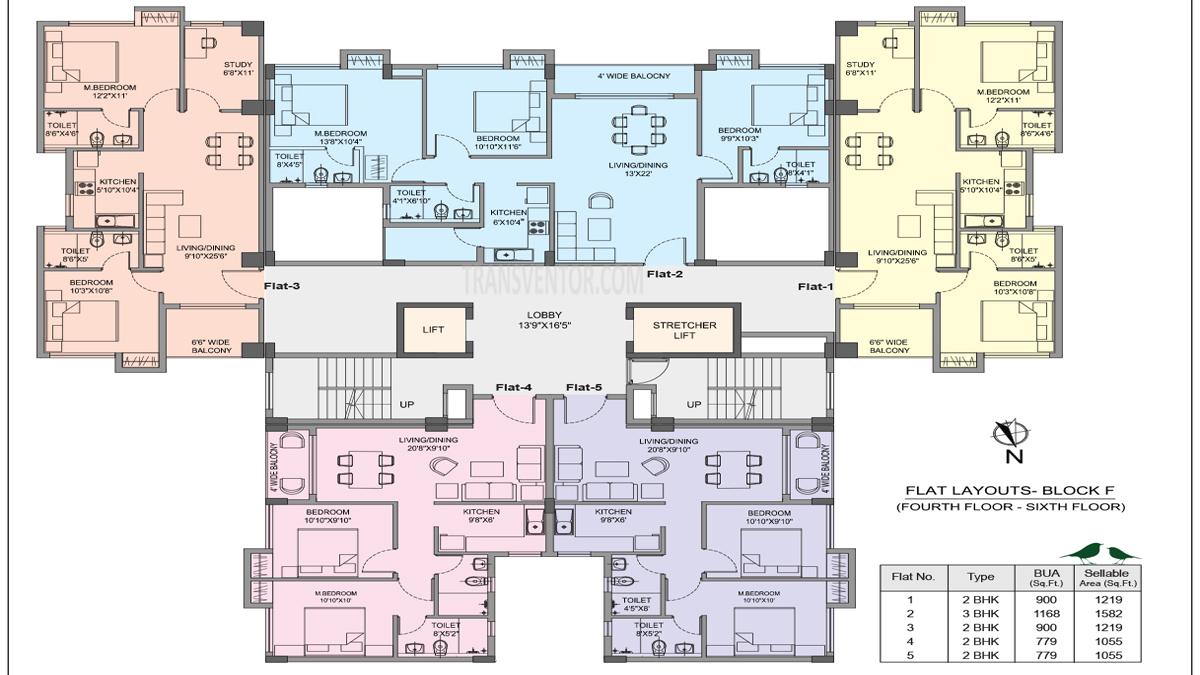 Bhawani Courtyard Floor Plan 3
