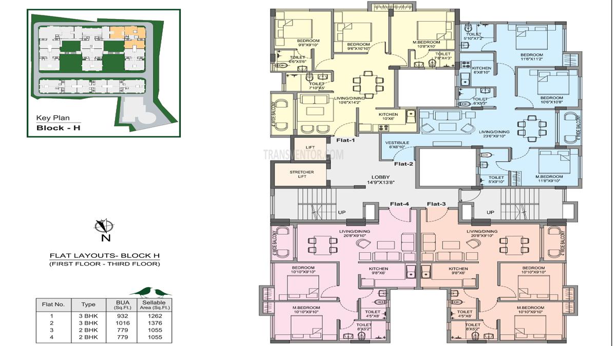 Bhawani Courtyard Floor Plan 4