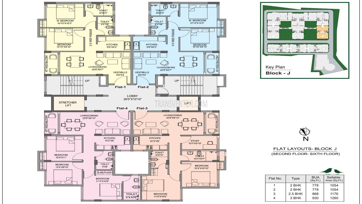 Bhawani Courtyard Floor Plan 6