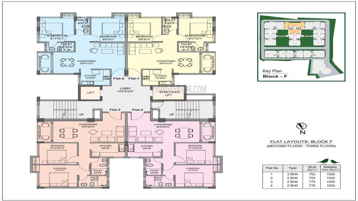 Bhawani Courtyard Floor Plan 2