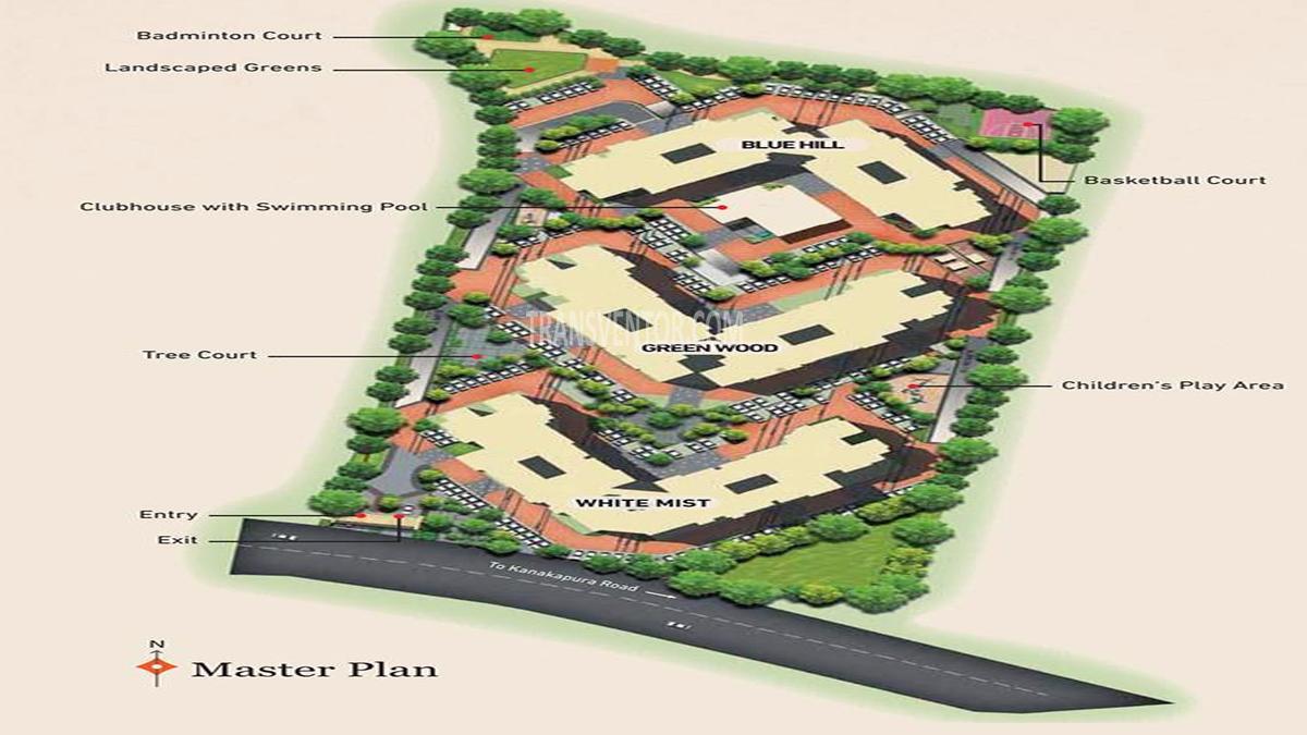 Brigade Omega Floor Plan 2